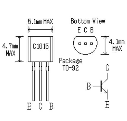c1815 npn transistor