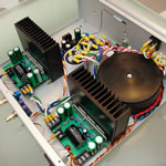 High Fidelity Audio Power Amplifier with equalizer