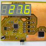Microcontroller Based Digital Temperature Instrument