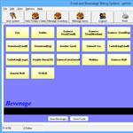 Food and Beverage billing system